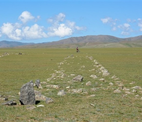 Burial Ground in Orkhon Valley