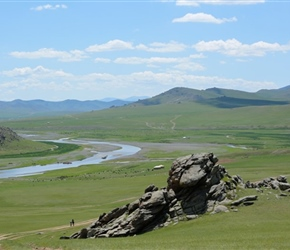 Along Orkhan Valley