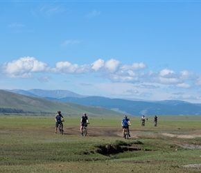 Across Plain in Orkhon Valley