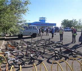 Bicycles ready to allocate at Dalanzadgad