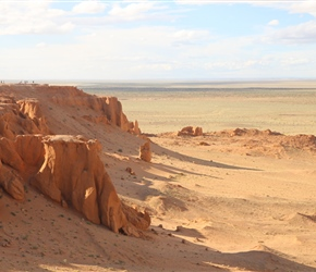 Flaming Red Cliffs