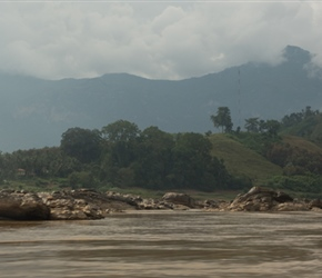Small rapids on the Mekong River