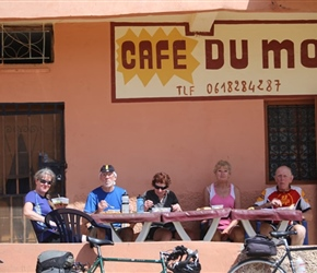 Nearly there, Cafe du Moulin