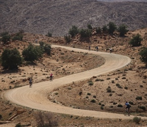 Zig zag paths to Tafraoute