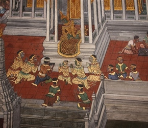Royal Palace Murals