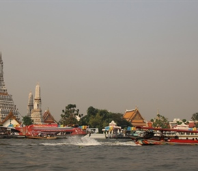 Temple from River
