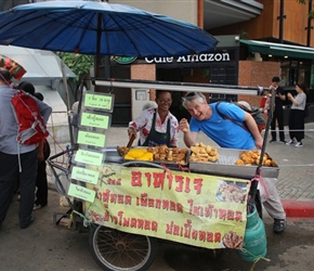 Neil and Street Food