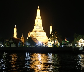 Temple from evening River Cruise