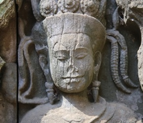 Statue at Ta Prohm