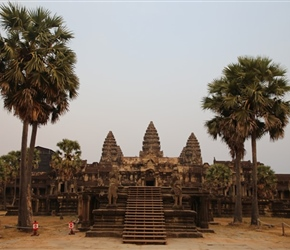 Angkor Wat in evening light