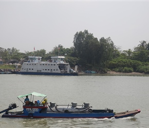 Second ferry at Chau Doc
