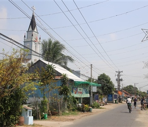 Christian Church by Mekong