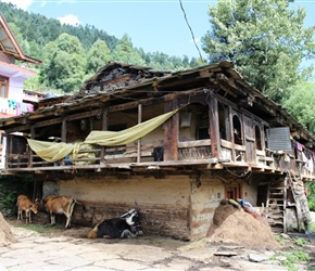 Old part of Manali