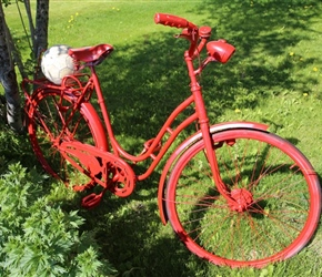 Red Bicycle near Anstad