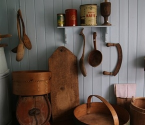 Kitchenware at Skatnes Farm