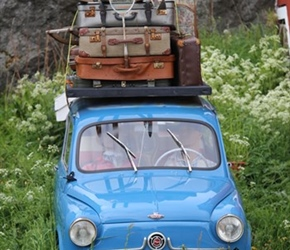 Ready for a holiday, Fiat at Stamsund