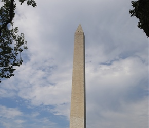 Built to honor George Washington, the commander-in-chief of the Continental Army and the first president of the United States, the Washington Monument was once the tallest building in the world at just over 555 feet. The monument to America's first p