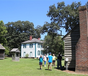 Bentonville battlefield hospital and Hardy House