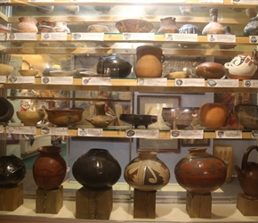 Pots in the Frisco Native American Museum