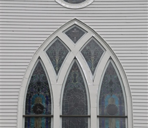 Parkers United Church window