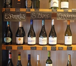 Wines at Puerto Varas