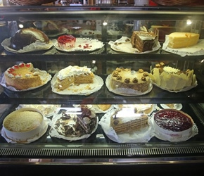 Cake cafe at Puerto Varas