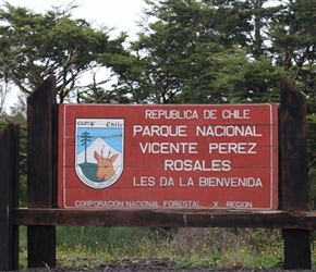Sign for Vicente Perez Park