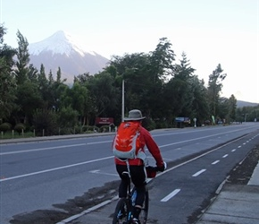 Rob towards Osorno Volcano