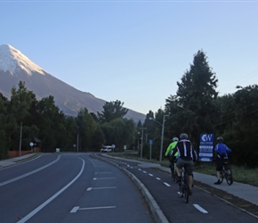 Towards Osorno Volcano
