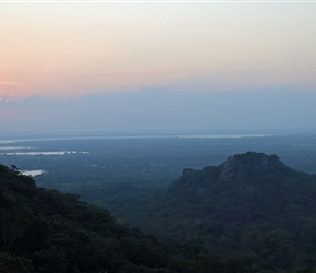 Sunset From Minhatale Ruins, quite a climb and at speed but worth it