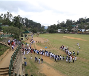 School sports day, who's going to win the sprint in Bandarawela