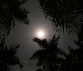Full moon at Tangalle