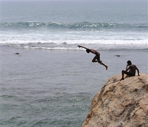 Diving in Galle