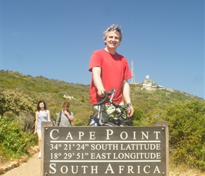 Neil at cape Point