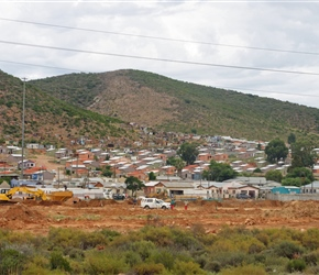 Township on the edge of Robertson