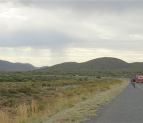 On the R60, 20km from Nuy