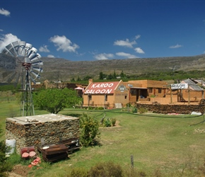 Karoo Saloon, a particularly kooky looking place