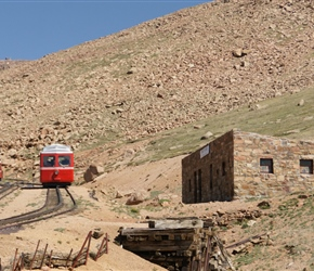 Cog railway heads to the summit