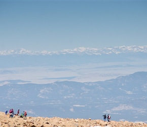 North from Pikes Peak