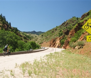 Route 24 near Manitou Springs