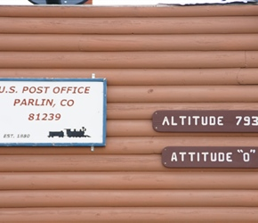 Altitude at Parlin Post Office