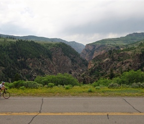 Phil McCabe passes Black Canyon of the Gunnison