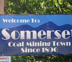 Somerset, home of coal mining