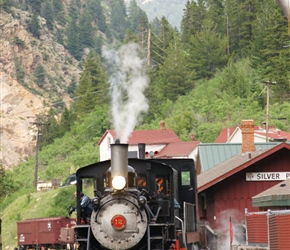 Railway at Silver Plume