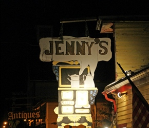 Jennys where we had our evening meal in Empire