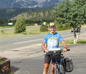 Michael Stainer ready to leave Estes Park