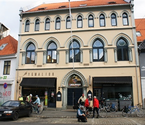 Bergen YHA, super convenient as close to the ferry terminal