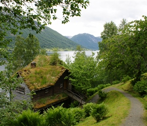 Astruptunet is situated in idyllic surroundings on the soth side og Jølstravatnet. Here you find he home of painter, illustrator and graphic artist Nikolai Astrup (1880 - 1928), who is one of Norway´s most famous national artists.