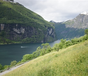 Geirangerfjorden from the Eagle Road
