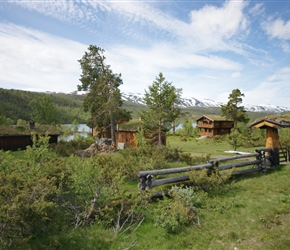 A lot of Norwegians have weekend boltholes